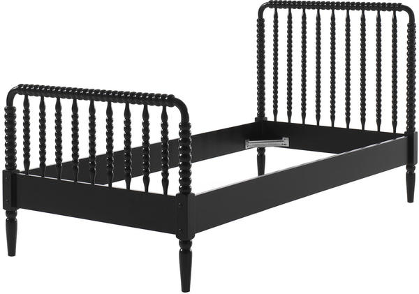 Vipack Einzelbett Alana schwarz