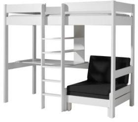 Vipack Hochbett Pino mit Schlafsessel und Schreibtisch (PIOLZB14)