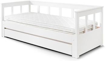 Vipack Funktionsbett Pino mit Bettschublade Weiß (PICOKBRB9114)