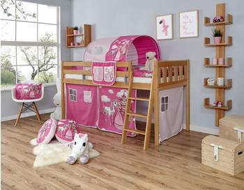 Ticaa Eric Vertikal Buche Natur Horse-Pink (Ausführung 3) 90 x 200 cm (938057)