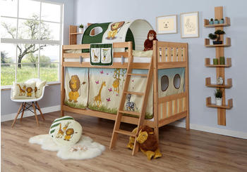 Ticaa Erni Vertikal Buche Natur Safari (Ausführung 3) 90 x 200 cm (939030)