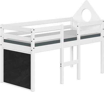 Flexa ALFRED Halbhohes Bett mit Kopfteil (90-10898-40)