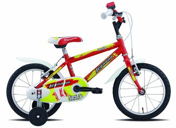 Legnano Snake 14 Zoll red/yellow