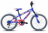 Legnano Ciclope 20 Zoll blau/rot