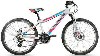 Montana Bike Spark 24 Zoll RH 32 cm Scheibenbremse weiß/lila