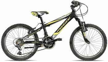 Montana Bike Spark 20 Zoll RH 29 cm schwarz/gelb