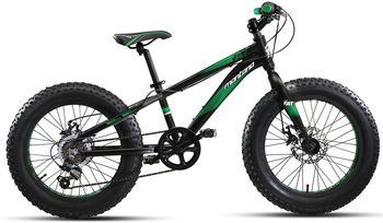 Montana Bike Fat Tyre Fattie 20 Zoll RH 28 cm schwarz/grün