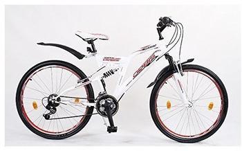 Orbis Bikes DYNAMIC ROT 24 Zoll RH 42 cm weiß/rot/schwarz