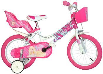 DINO BIKES Barbie 16 Zoll pink/weiß