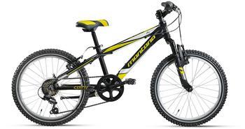 Montana Bike Spidy 20 Zoll RH 29 cm 6-Gang schwarz/gelb