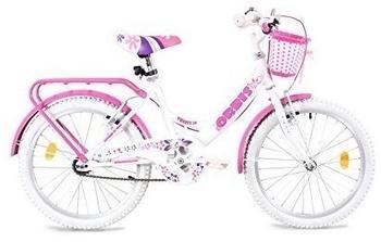 Orbis Bikes Tazmany 20 Zoll white/pink