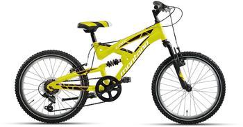 Montana Bike CRX 20 Zoll RH 33 cm 18-Gang schwarz/gelb