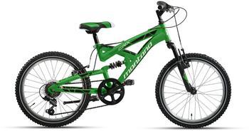 Montana Bike CRX 20 Zoll RH 33 cm 6-Gang schwarz/grün