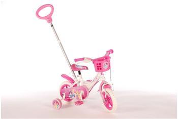 Volare Disney Princess 10 Zoll RH 18 cm weiß/rosa