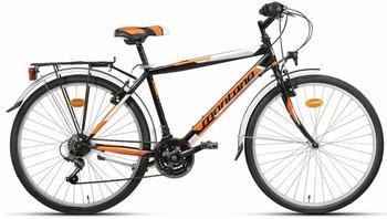 Montana Bike Escape 24 Zoll RH 35 cm Hi-Ten Tig schwarz/orange