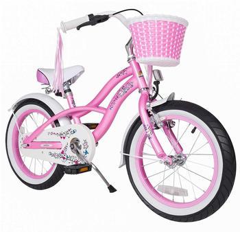 Bikestar Deluxe Cruiser 16 Zoll pink