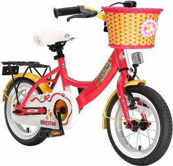"Star-Trademarks Bikestar 12"" Classic (berry-weiß)"