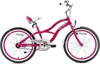 Bikestar Deluxe Cruiser 20 Zoll grün