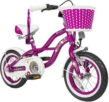 """Star-Trademarks Bikestar 12"""" Deluxe Cruiser (creamy violett)"""