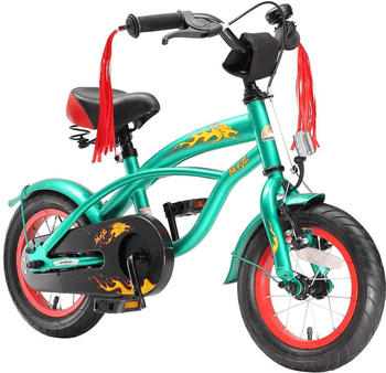 """Star-Trademarks Bikestar 12"""" Deluxe Cruiser (brilliant grün)"""