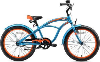 Bikestar Deluxe Cruiser 20 Zoll blau