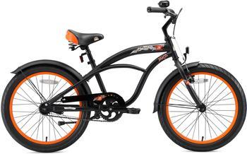 Bikestar Deluxe Cruiser 20 Zoll schwarz