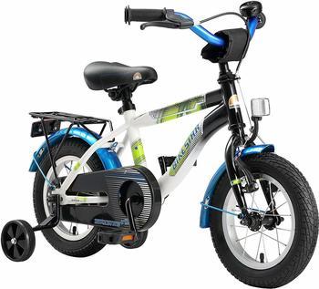 Bikestar Modern Edition 12 Zoll schwarz/weiß