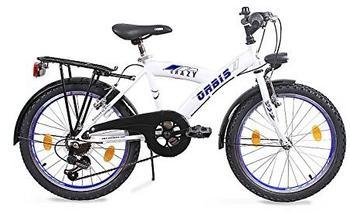 Orbis Bikes Cityfahrrad 20 Zoll RH weiß/blau