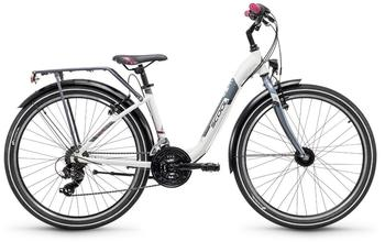 S'cool scool chiX 26 21-S alloy White/Anthrazit 2018 Jugend- Bikes