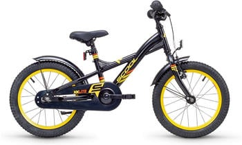 S´cool XXlite 16 steel 16 Zoll RH 23 cm black/yellow 2018