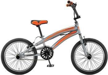 Hoopfietsen Umit 20 Zoll RH 27 cm grau/orange