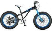 Hoopfietsen Allround 20 Zoll schwarz/blau