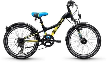 S´cool XXlite steel 20 7-S 20 Zoll RH 28 cm black/yellow matt 2018