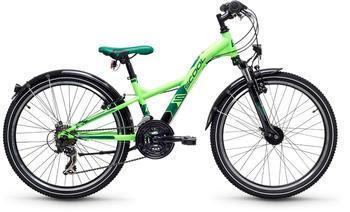 S´cool XXlite steel 24 21-S 24 Zoll RH 31 cm neon green 2018