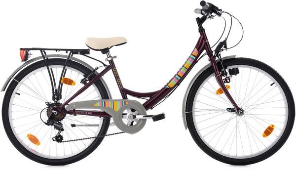 KS-CYCLING KS Cycling Kinderfahrrad Gurlz 24