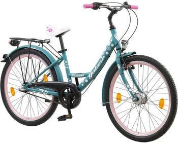 Galano 24 Zoll Galano Mädchenrad Jugendrad Cityrad Mädchenfahrrad