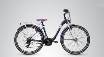 S´cool chiX steel 26 21-S 26 Zoll RH 38 cm dark grey/violett 2018