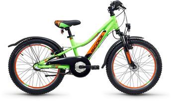 S´cool scool troX urban 20 3-S grün