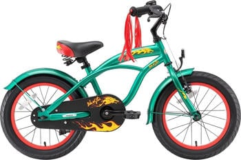 Bikestar Cruiser 16 Zoll grün