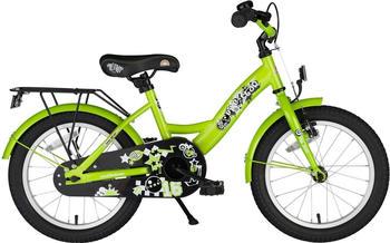 Star-Trademarks Kinderfahrrad 16 Zoll grün
