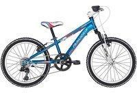 Adriatica Mountainbike 6 Gang Shimano TY21 Schaltwerk, Kettenschaltung blau 20 Zoll (50,80 cm)