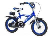 Hi5 Kinderrad Polizei blau/schwarz, 16 Zoll