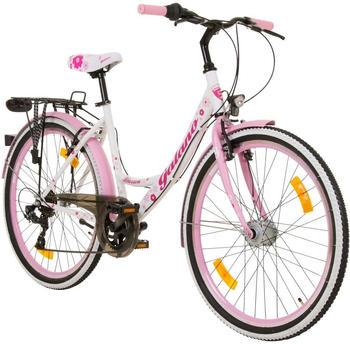 Galano Mädchenfahrrad Blossom pink, 26 Zoll