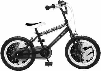 Stamp Star Wars Fahrrad Jungen, schwarz