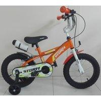 Schiano 14 Zoll Kinder Fahrrad Schiano... weiß-orange