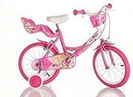 DINO BIKES 8006817900412 Mädchen 14Zoll Mehrfarben Fahrrad