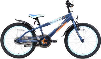 Bikestar Jugendfahrrad 1 Gang blau