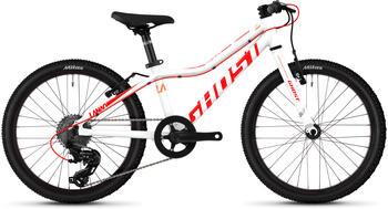 Ghost Lanao R1.0 AL W 8 Gang Shimano Tourney TX RD-TX800 8-S Schaltwerk weiß 20 Zoll Mountainbike Hardtail Jugendfahrrad MTB... star whiteneon redjuice orange, 27 cm