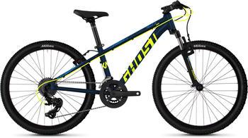 Ghost Mountainbike »Kato 2.4 AL U«, 16 Gang Shimano Tourney TX RD-TX800 8-S Schaltwerk blau 24 Zoll (60,96 cm)