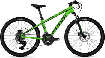 Ghost Mountainbike »Kato D4.4 AL U«, 16 Gang Shimano Tourney TX RD-TX800 8-S Schaltwerk grün 24 Zoll (60,96 cm)